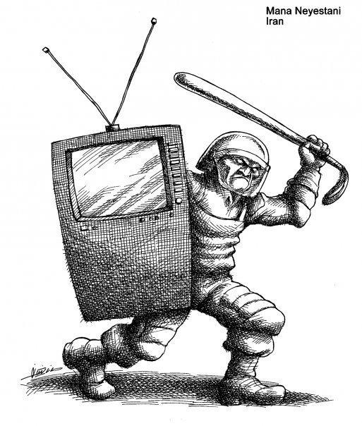 Cartoon by Mana Neyestani - July 10th 2009